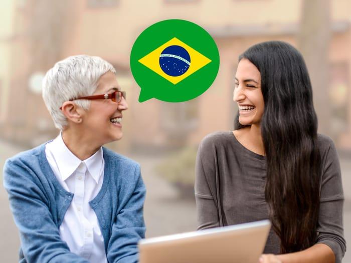 पुर्तगाली बोलना