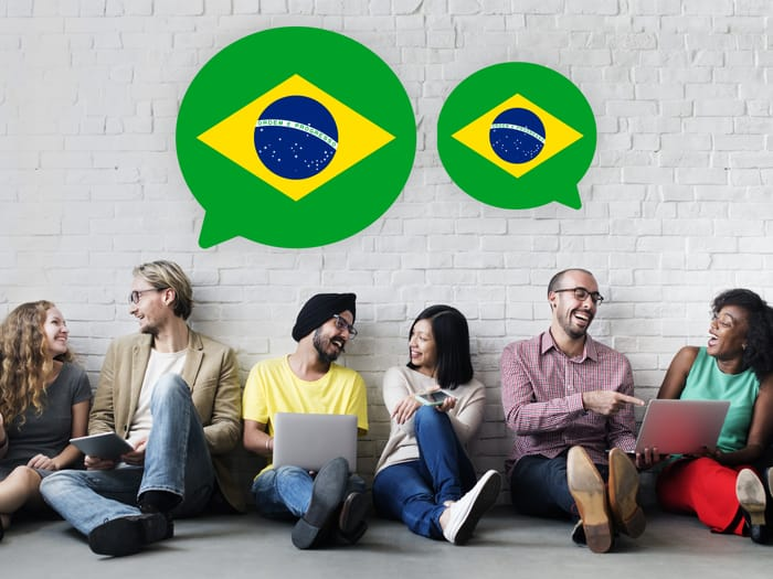 Lidé učící se portugalsky