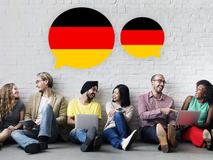Люди, изучающие немецкий язык
