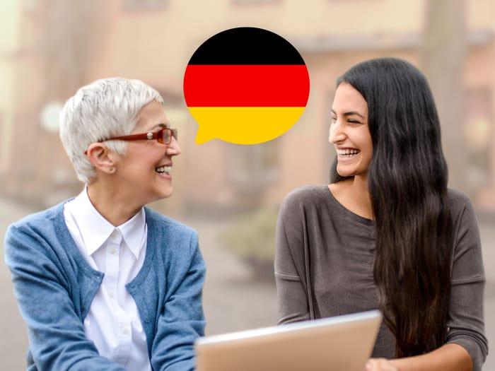 जर्मन बोलना