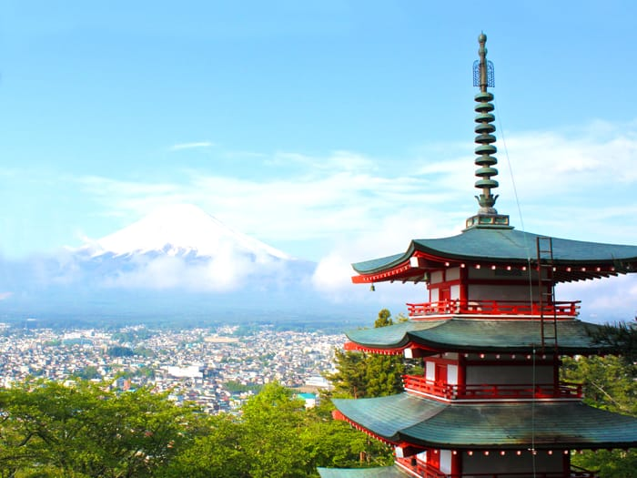 Monumento giapponese