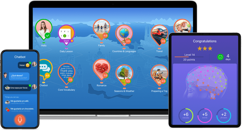 Türkisch lernen mit der App von Mondly