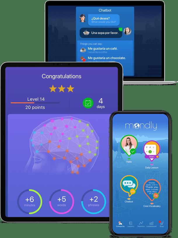 Russisch lernen mit der App von Mondly