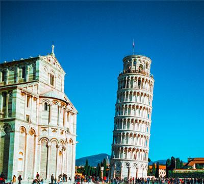Изучайте итальянский онлайн, чтобы посетить Пизанскую башню (Италия)