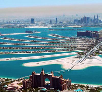 在线学阿拉伯语,参观迪拜棕榈群岛