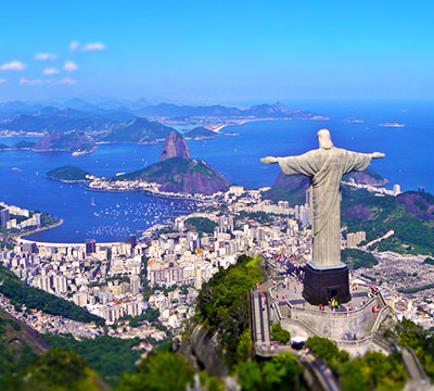 Image showing the statue of the Christ the Redeemer from Rio de Janeiro