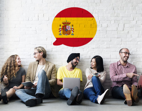 Image showing people learning Spanish