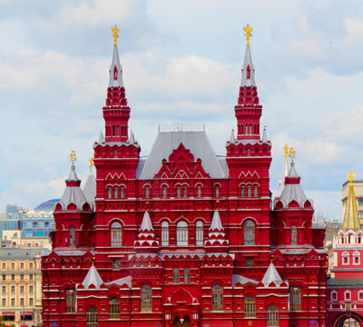 Learn Russian online to visit the Kremlin in Moscow, Russia