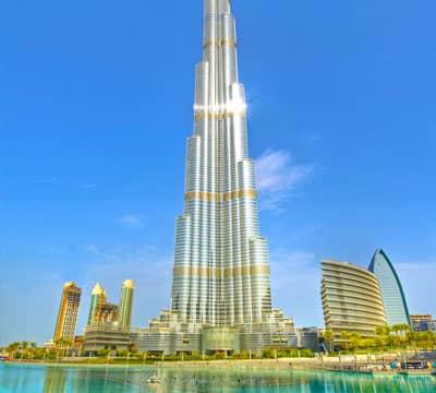 Imagen que muestra Burj Khalifa, la famosa atracción de Dubái