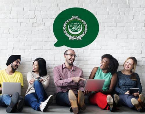 Imagen que muestra a personas tomando una clase de árabe tras utilizar Mondly