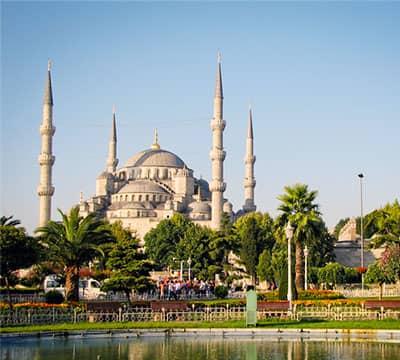 Imagen que muestra Santa Madre Sofía, la famosa atracción de Estambul