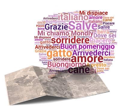 Imagen que muestra las frases y oraciones en italiano que puedes aprender con Mondly