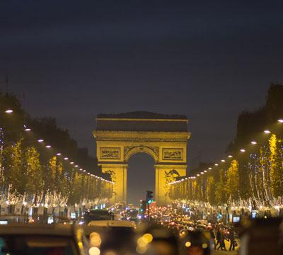 Image showing Champs-Élysées from Paris, France