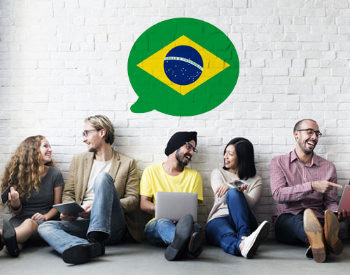 Image showing people learning Portuguese