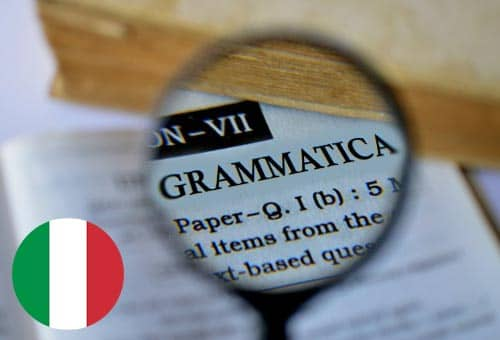 Image showing how you can improve your Italian grammar online with Mondly