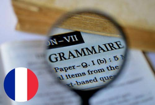 Image showing how you can improve your French grammar online with Mondly