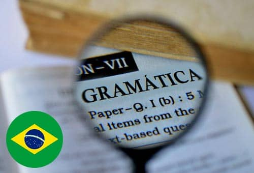 Image showing how you can improve your Portuguese grammar online with Mondly