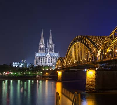 Image showing Cologne Cathedral, the famous German attraction