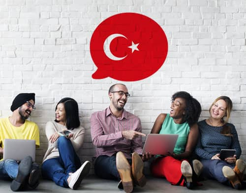 Image showing people having an Turkish class after using Mondly