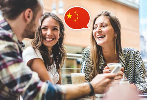 Image showing people speaking Chinese with Mondly