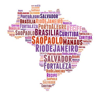 Image showing the Portuguese words you can learn with Mondly