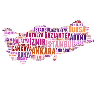 Image showing the Turkish words you can learn with Mondly